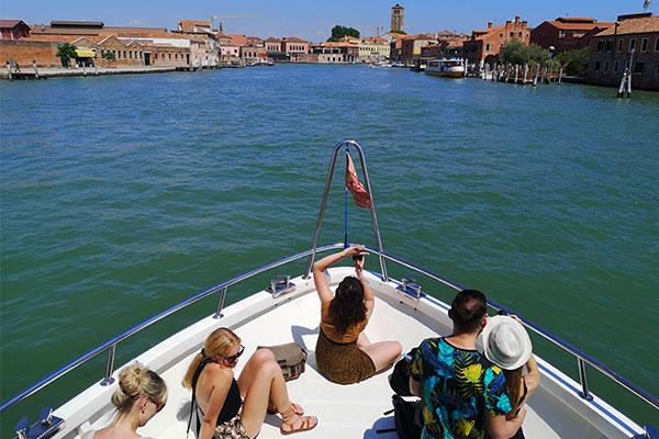 Gita in barca alle isole di Venezia - Tour in barca isole di Venezia - Tour panoramico in barca isole di Venezia - Tour in Laguna