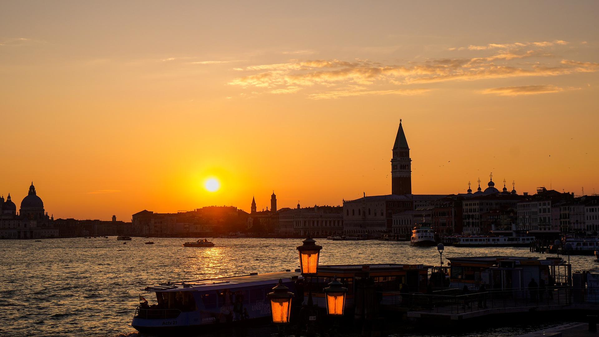Venezia aperitivo tramonto