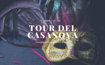 TOUR DEL CASANOVA: passeggiata con la guida e crociera panoramica con serenata e aperitivo